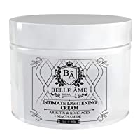Intimate Skin Lightening Cream - Belle Ame - For Anywhere on your Body - Underarms, Knees, Thighs, Elbows, Buttocks, Dark Spots (2oz)