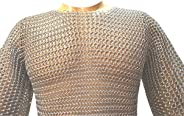 Butted Aluminum Chainmail Shirt 10-15yrs child,Medieval Chainmail Haubergeon ABS