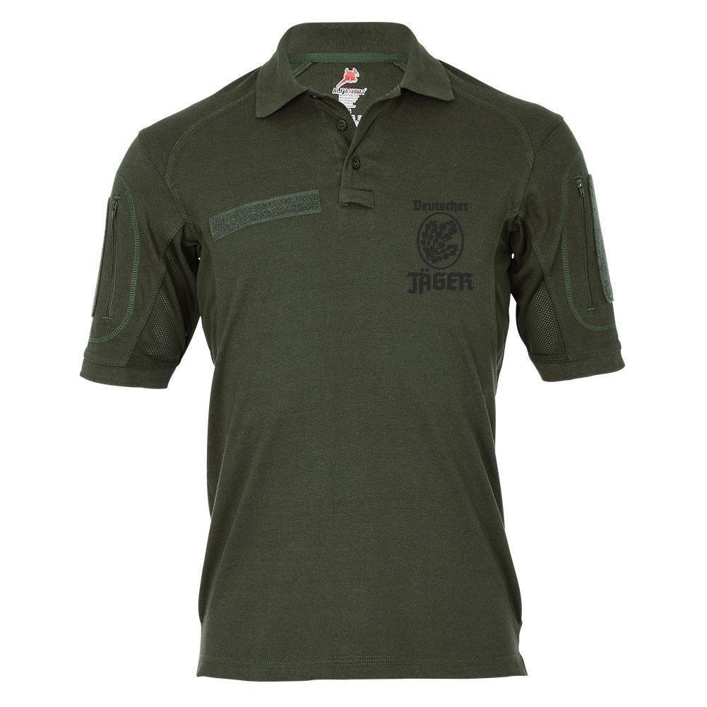 Copytec Tactical Poloshirt Alfa - Deutscher Jäger BW Abzeichen Jägertruppe Hemd Infanterie  18978