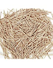 Chenille Kraft 369001 Flat Wood Toothpicks, Wood, Natural, 2500/Pack (CKC369001) (CK-369001)