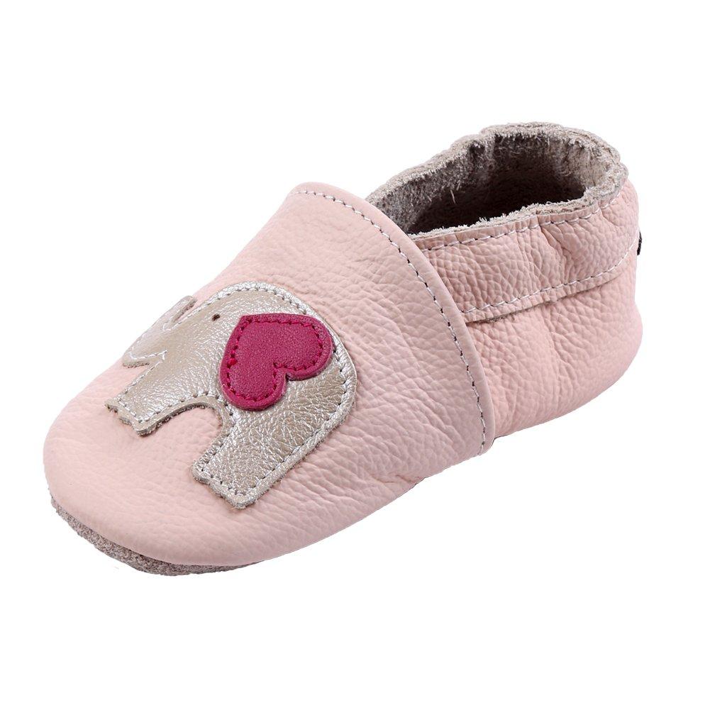 b4ebb85d092 iEvolve Baby Girls Boys Shoes Baby Toddler Soft Sole Prewalker First Walker  Crib Shoes Baby Moccasins