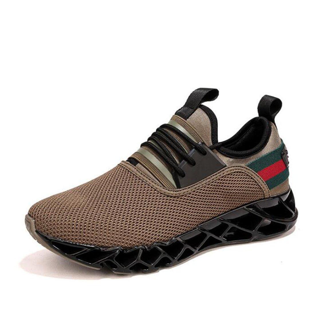 Zapatillas Deportivas Transpirables De Malla para Hombre 44 EU Brown