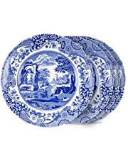 Spode Blue Italian Salad Plate, Set of 4