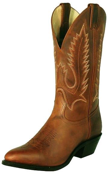 353039ce45d Amazon.com | Boulet Men's Rider Cowboy Boot Pointed Toe | Western