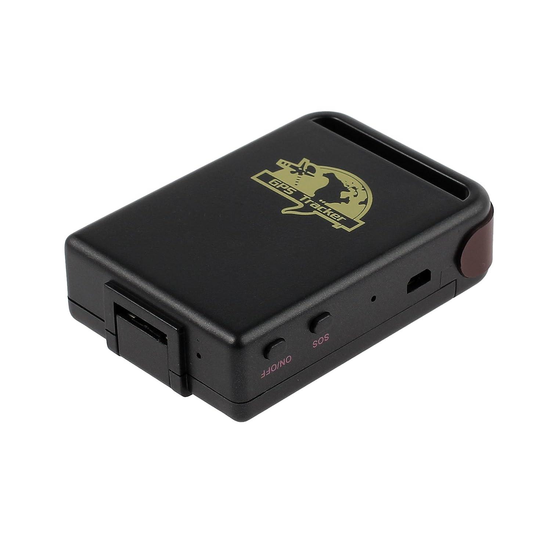 Kamtop Mini Localizador GPS para Coche TK102 Rastreador GPS GPRS Impermeable y Recargable con Cable USB Ratreador GPS en Tiempo Real con Potente Imán ...