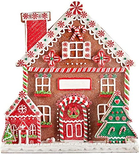 RAZ IMPORTS 13 GINGERBREAD CHRISTMAS VILLAGE CANDY HOUSE