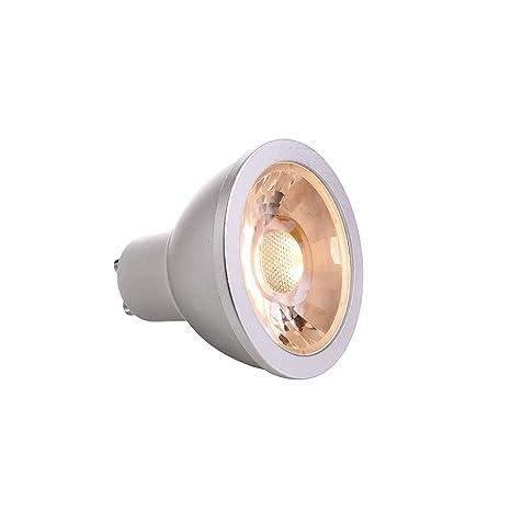 bombilla LED GU10 6 W COB Foco regulable lámpara luz Spot 40 grados – Luz Blanco