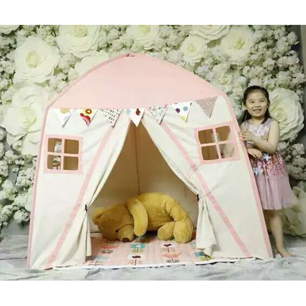 Free Love @pink color childre game room kids play house Indian children tents children play tent Kids Teepee