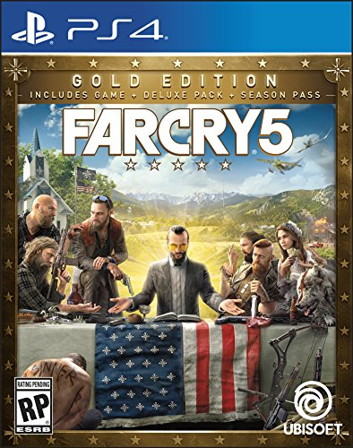 Far Cry 5 Steelbook - PlayStation 4 Gold Edition