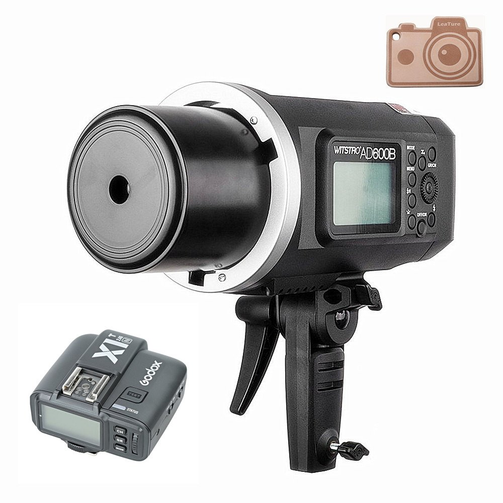 Godox Wistro AD600B TTL All-in-One Powerful Outdoor Flash with 2.4G X System Build-in 8700mAh Li-on Battery with X1T-N Trigger for Nikon DSLR Cameras (AD600B+X1T-N)