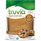 Truvia Brown Sugar Blend, Mix of Natural Stevia Sweetener and Brown Sugar, 18 oz Bag