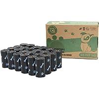 Green Maker Biodegradables Caca Perro Bolsas 360 Excrementos Perros Bolsas 30% más Grueso Que Otros Hecho de Almidón de…