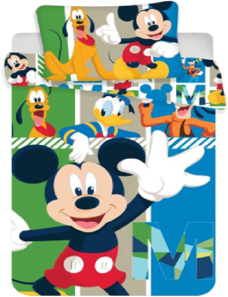 Jerry Fabrics Mickey & Friends 18BS086 Juego de Cama para niños ...