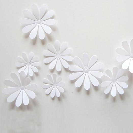 33 opinioni per ufengke® 12 Pezzi 3D Fiori Adesivi Murali Fashion Design DIY Fiori Arte Adesivi