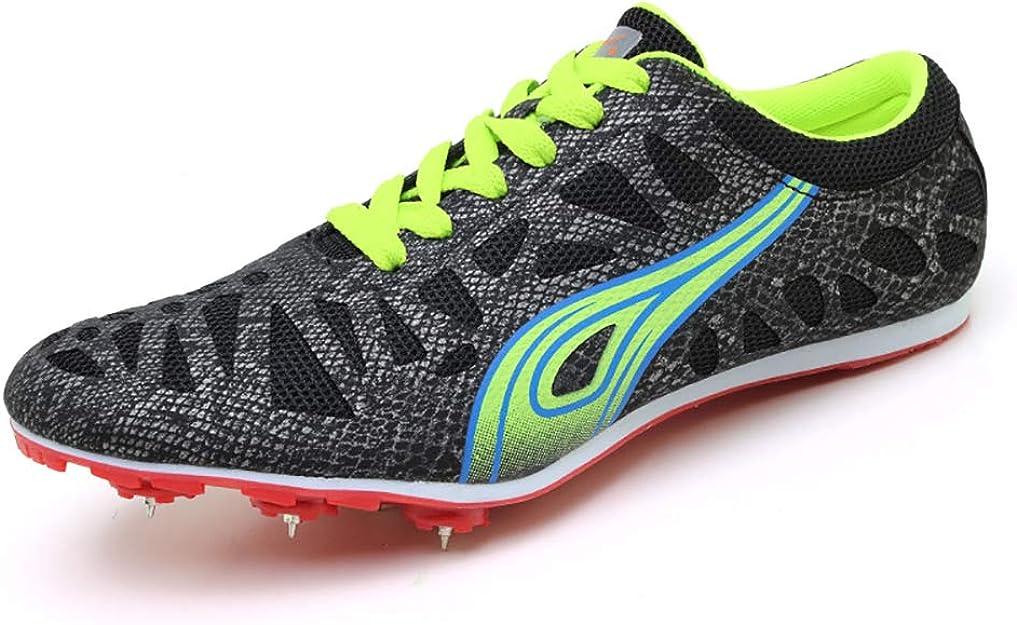 ZLYZS Pistas de Atletismo, 7 púas Juveniles Zapatillas de Atletismo Zapatillas de Running Medianas y Cortas Zapatillas de Atletismo Profesionales: Amazon.es: Zapatos y complementos