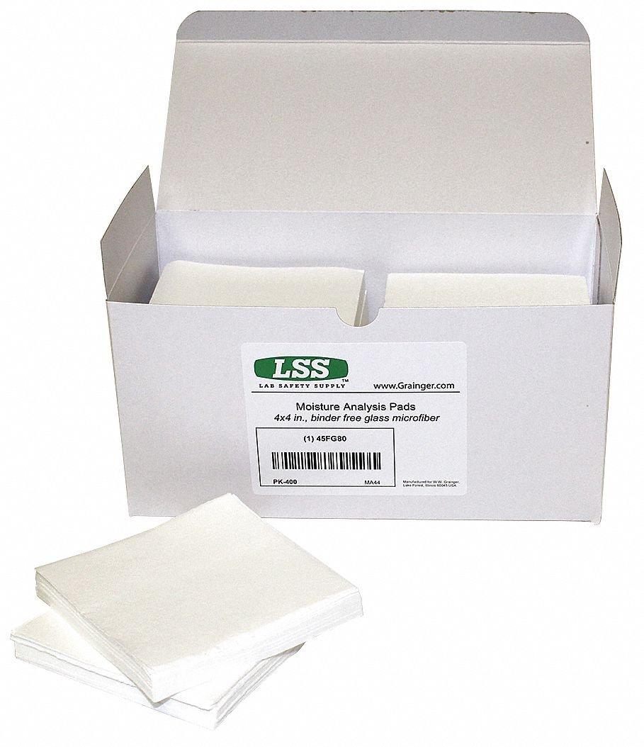 Moisture Analyzer Pad,4 in L,PK400