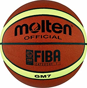 Molten Basketball BGM7, ORANGE/CREME, 7