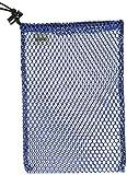 Equinox Nylon Mesh Stuff Sack (7 x 10-Inch, Blue)