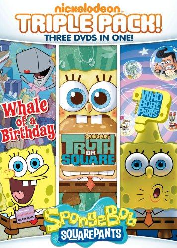 Spongebob Squarepants: Truth or Square / Who Bob What Pants / Whale of a Birthday