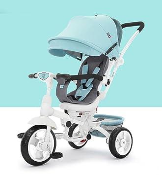 WF-BIKE Bicicleta de bebé Triciclo de manejo/Ciclismo Carrito de bebé/ Carrito de bebé para bebé, 1-6 años: Amazon.es: Deportes y aire libre