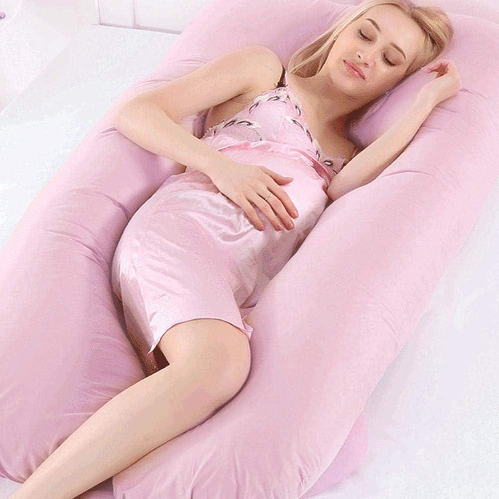 bearivt Schwangerschaftskissen U-f/örmiger Kissenbezug f/ür die Mutter multifunktionaler Kissenbezug aus Baumwolle zum seitlichen Schlafen 80 160 cm