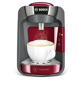 Bosch TAS3203GB Totalmente automática Máquina de café en cápsulas 0.8L Cereza - Cafetera (Máquina de café en cápsulas, 0,8 L, 1300 W, Cereza): Amazon.es: ...