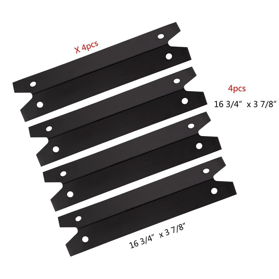 bbq-parts PPG311 (4-pack) BBQ Gas Grill Heat Plate ...