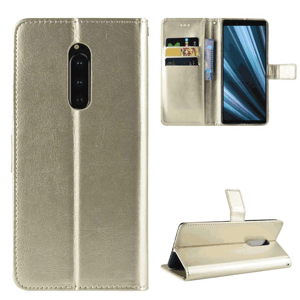 Cover for iPhone Xs Max Leather Kickstand Wallet Cover Card Holders Extra-Durable Business with Free Waterproof-Bag Business iPhone Xs Max Flip Case