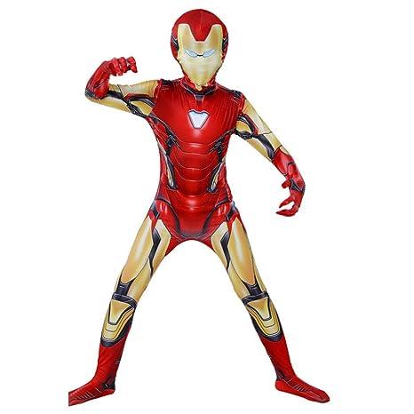 Avengers Iron Man Siamés Ceñido Traje De Camuflaje Cosplay ...