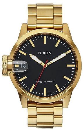 Nixon Analog Mit Herren A441 Uhr Beschichtet Quarz Edelstahl Armband eBoxWdCr