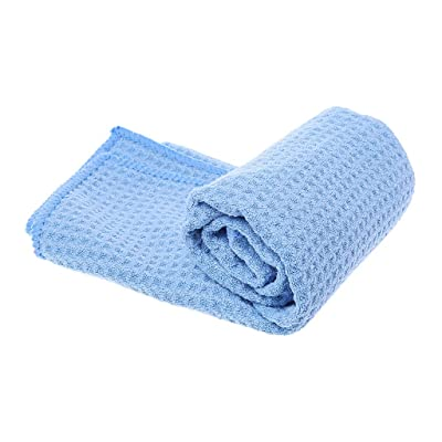 Autone New Microfiber Car Washing Towel Super Absorbent Cloth Premium Waffle Weave(40x40cm): Toys & Games
