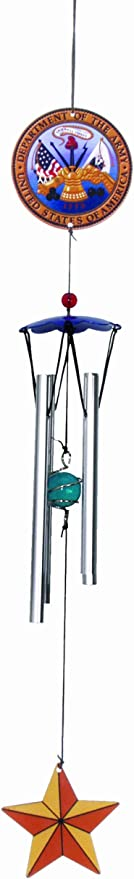 Spoontiques Army Wind Chime Free Shipping!! Brand New