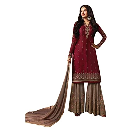 b1986d95f2 Amazon.com: Pakistani Suit Festive Bridal Collection Garara Wedding Salwar  Kameez Muslim Women Indian Dress 7214: Home Improvement