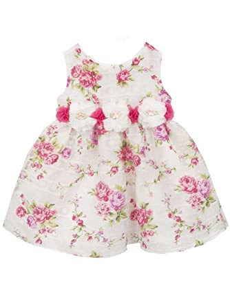 9dc2426472f6 Amazon.com  Rare Editions Newborn Girl Vintage Rose Print Spring ...