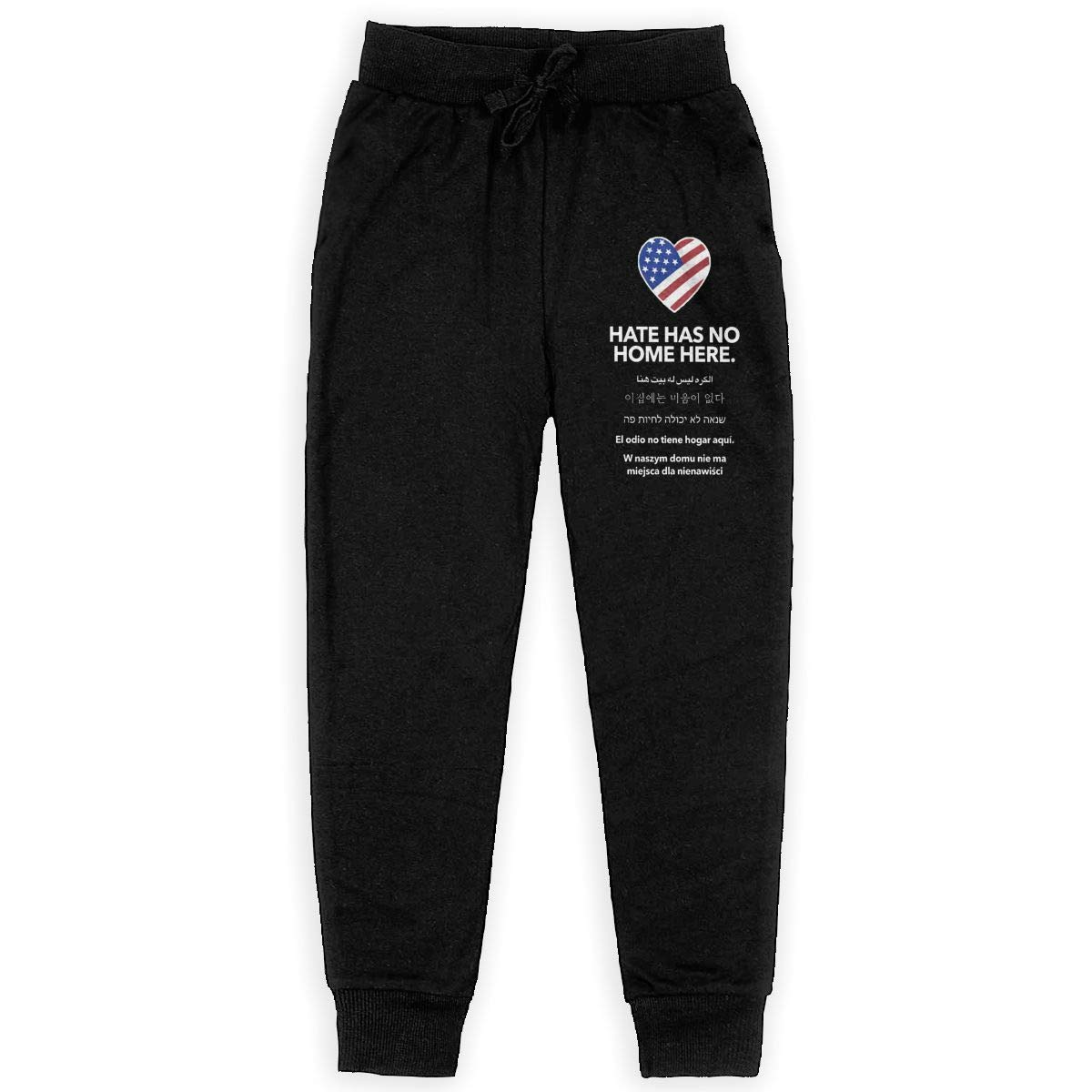 Hate Has No Home Here Garden Flag Teenage Trousers