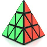 Cozyrom 大変人気だマジックキューブ 創造的 マジックピラミッドキューブ 立体ルービックキューブ カラフル 減圧おもちゃ