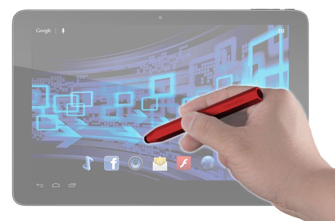 DURAGADGETファンキーレッド' OLPC 'クレヨンタッチ画面アートスタイラスペンwith Capacitiveラバーチップfor OLPC xo-2 xo-2、xo-10、xo-10 & & Audi Androidタブレット B00HZM6V7C, Devine:67f33799 --- itxassou.fr