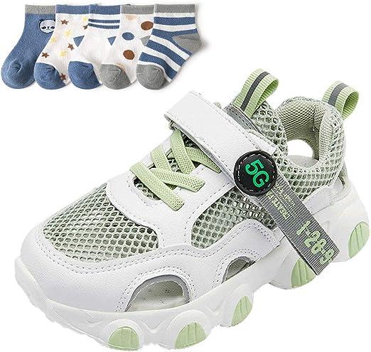 XFQ Chicos Transpirable Zapatillas De Deporte, Kids Summer Running ...
