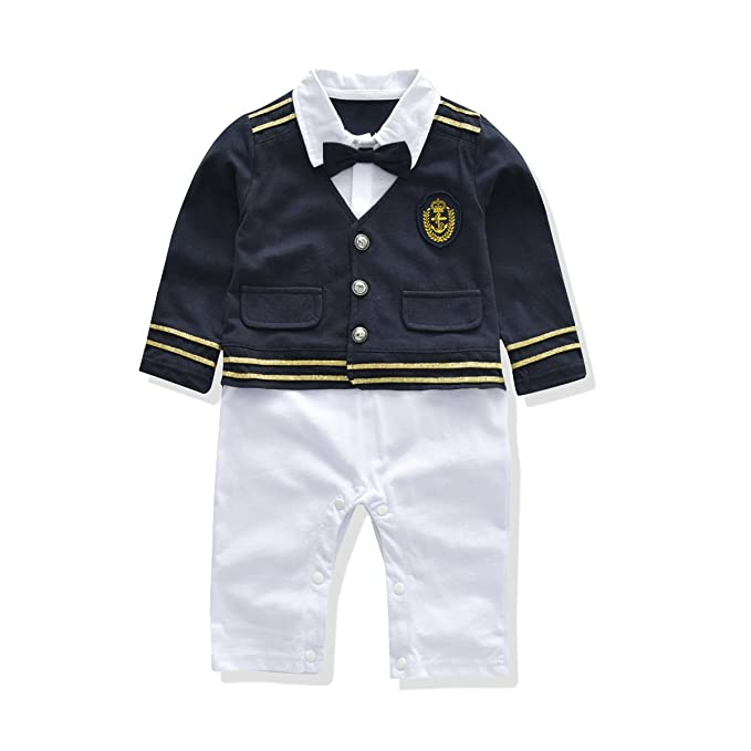 Amazon.com: So Smart Baby Rompers - Mono de uniforme y ...