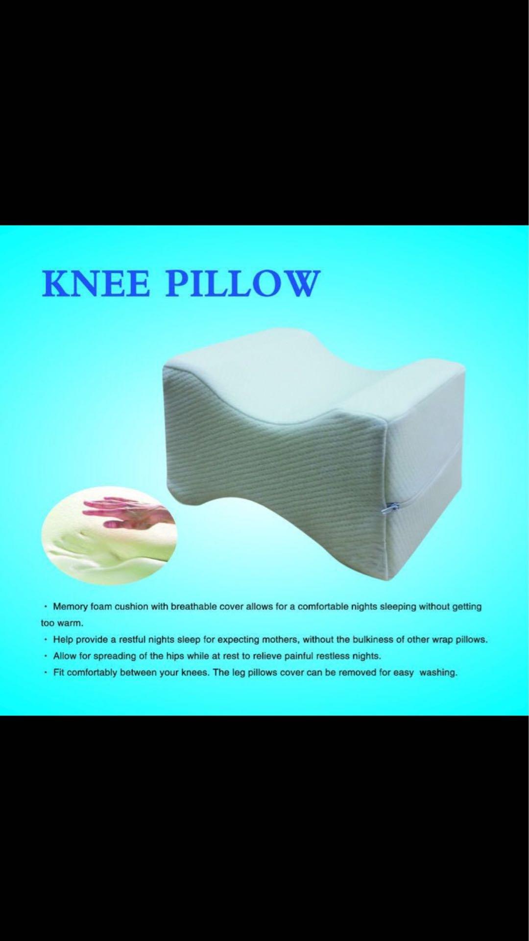 Amber A&M Z&Z_Inc Memory Foam Knee Pillow Soft Cushion