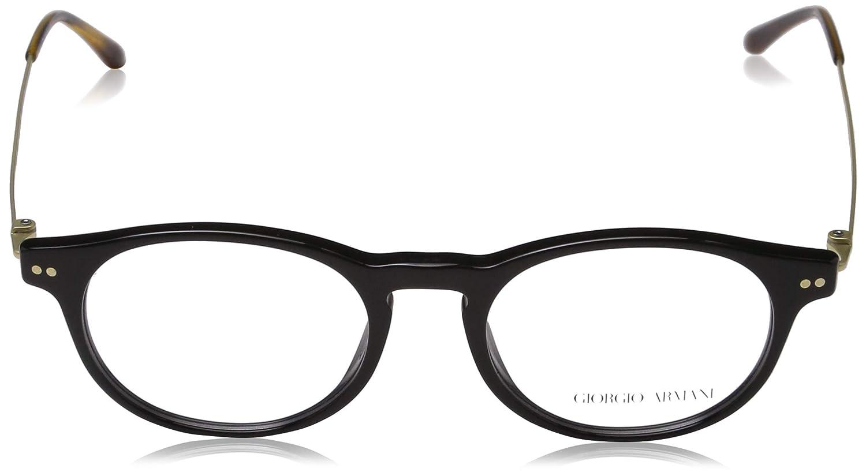 a5a29f671967 Amazon.com: Giorgio Armani OAR7010 Black 5017 Eyeglasses 49mm: Clothing