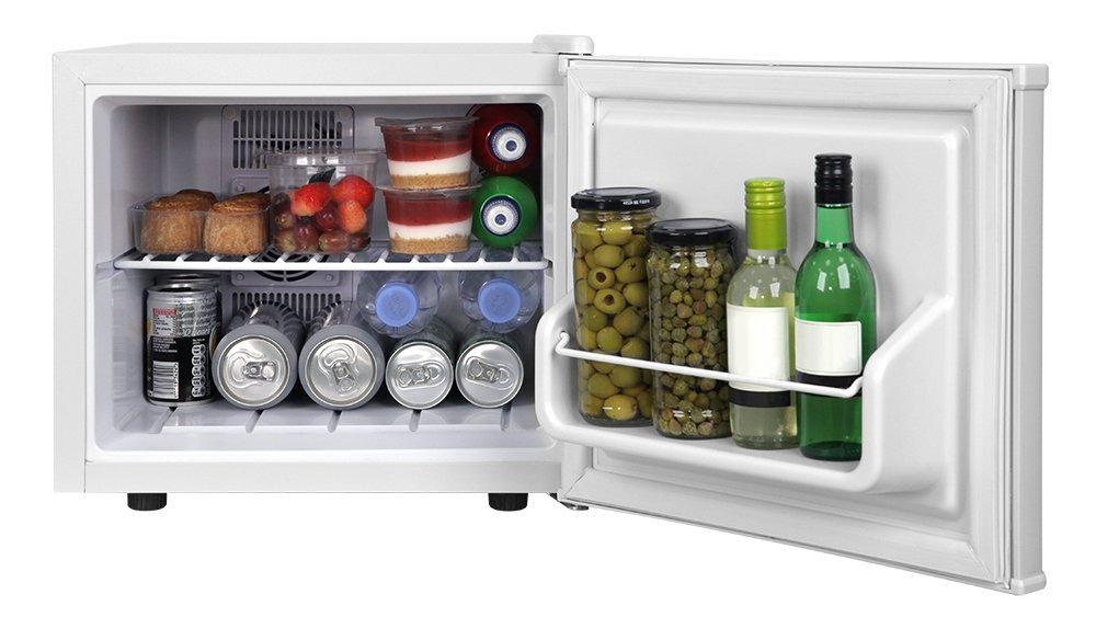 Mini Kühlschrank Mit Werbung : Russell hobbs rhclrf17 mini kühlschrank 17 liter kühlteil weiß