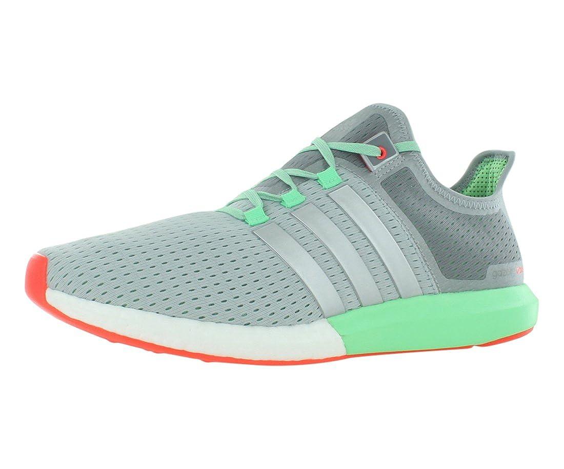 online retailer efcb2 0aca5 adidas Cc Gazelle Boost M White Grey Green Running Shoes (7.5)   Amazon.co.uk  Shoes   Bags