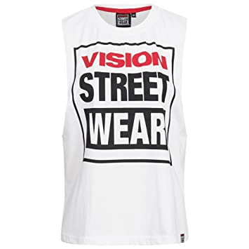 Symbol Of The Brand Vision Street Wear Damen Fitness Crew Neck Tank Top Shirt Cl3101 Black Gr Fitness, Running & Yoga L Online Shop