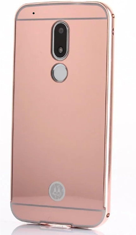 LXHGrowH Funda Espejo Aluminio Metal Carcasa para Motorola Moto G4 ...