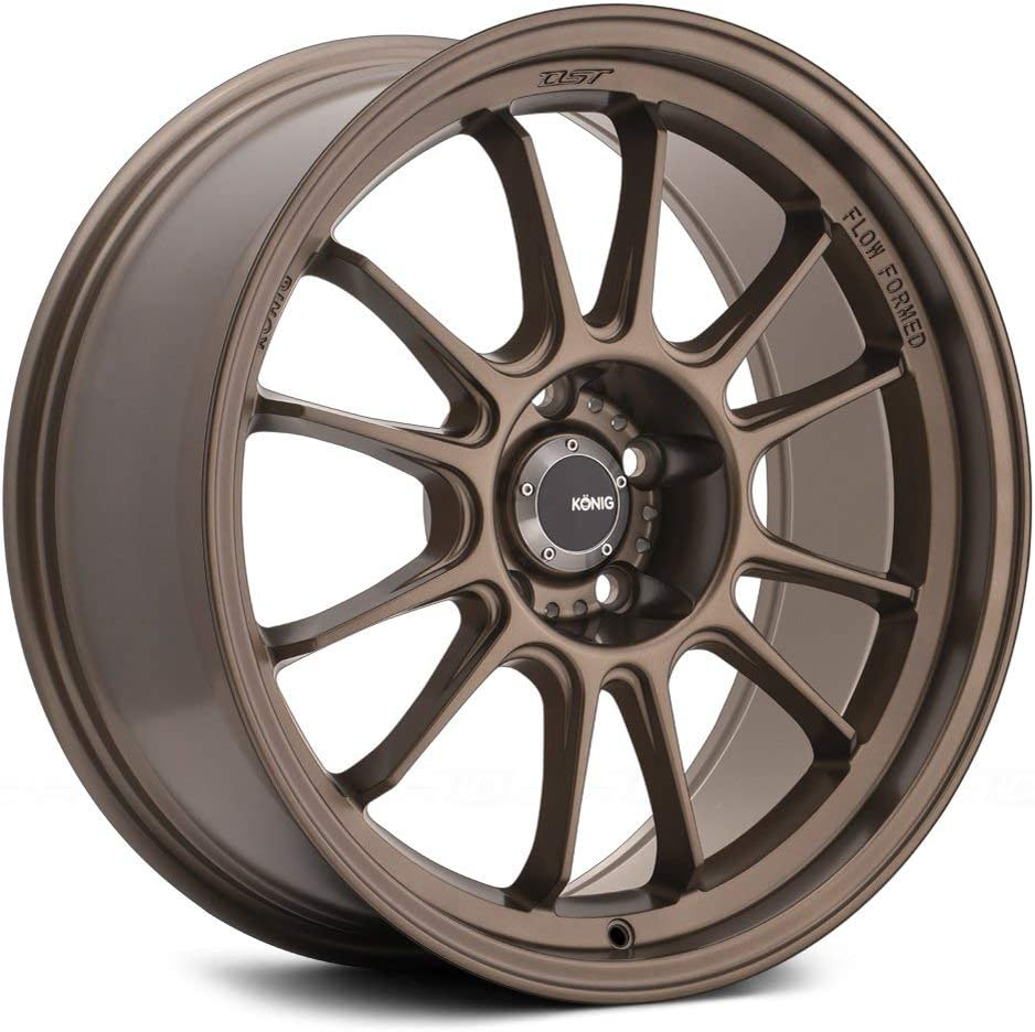 Konig Hypergram 17x8 Bronze Wheel Partnumber HG87514358 Rim 5x4.5 with a 35mm Offset and a 73.1 Hub Bore