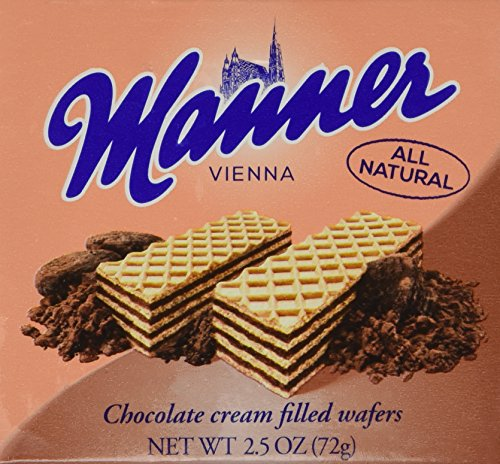 (Manner Wafers Chocolate - 2.54 oz. - 12ct.)