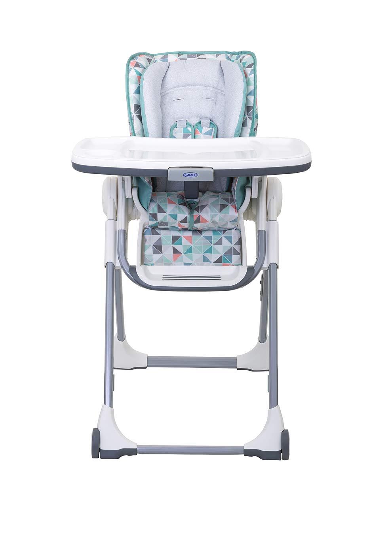 Graco 3Z999RBXEU Swift Fold Hochstuhl mit Tisch abnehmbares Tablett f/ür Sp/ülmaschine 1 st/ück mehrfarbig mitwachsend Kinderhochstuhl Baby mit Liegefunktion zusammenklappbar