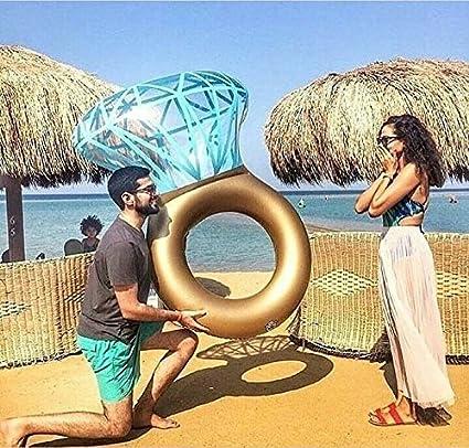 Baby Pig Anillo de natación gigante, piscina inflable balsa flotante, tumbonas de juguete de fiesta de playa de verano al aire libre, silla recreativa de ...