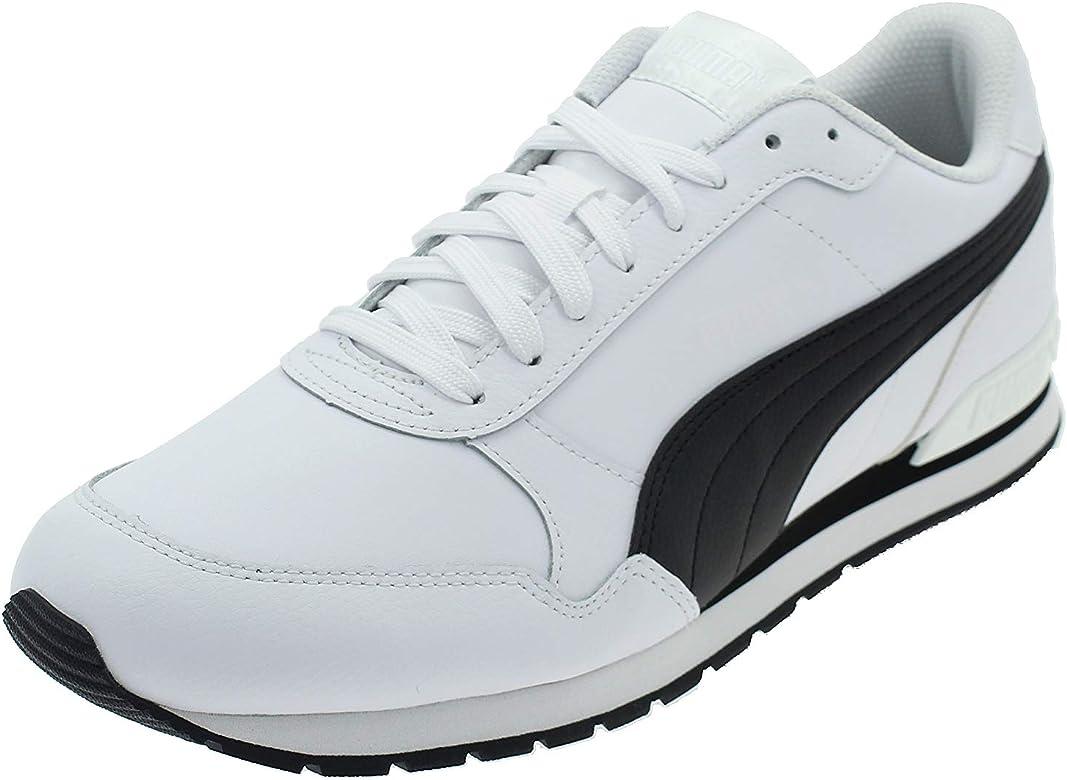 PUMA ST Runner V2 Full L, Zapatillas Unisex Adulto, Blanco White Black, 44 EU: Amazon.es: Zapatos y complementos